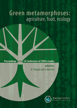 Green metamorphoses: agriculture, food, ecology